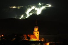 Flutlicht am Hohenbogen